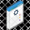 Webpage Generator Icon