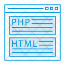 Browser Webpage Script Icon
