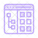 Menu Window Online Icon