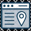 Webpage Location Web Address Website Address Webpage Address Icon