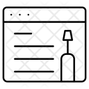 Webpage Maintenance Onlne Icon