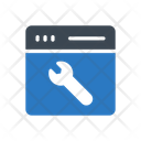 Webpage Setting Development Icon