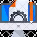 Webpage Maintenance Website Maintenance Webpage Management Icon