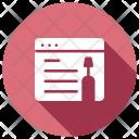 Webpage maintenance Icon