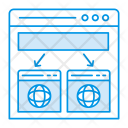 Webpage management Icon