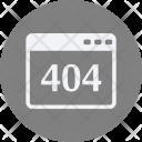 404 Error Websit Icon