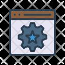 Webpage Optimization Icon