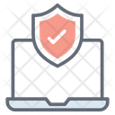 Web Shield Browser Lock Website Protected Icon