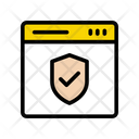 Webpage Security Internet Icon
