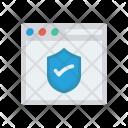 Security Antivirus Webpage Icon
