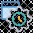 Webpage setting Icon
