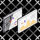 Webpage Statistics Icon