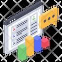 Webpage Traffic Icon
