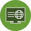 Webpage Web Lcd Icon