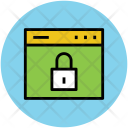 Website Security Browser Icon