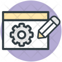 Website Technical Support Icon