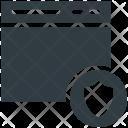 Website Security Online Icon