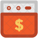 Website Dollar Sign Icon