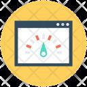 Website Speed Web Icon