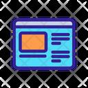 Website App Analytics Icon