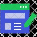 Website Web Page Web Icon