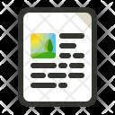 Website Content Web Icon