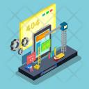 Website Maintenance Internet Icon