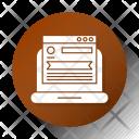 Website Page Development Icon