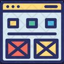 Ecommerce Layout Online Icon