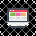 Webpage Marketing Seo Icon