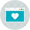 Website Dating Application Icon
