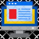 Webpage Website Computer Icon