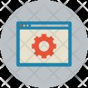 Website Marketplace Maintenance Icon
