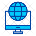 Website Monitor Web Icon