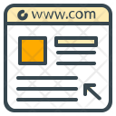 Website Webpage Domain Icon
