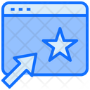Website Star Ranking Icon