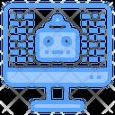 Website Robot Equipment Icon