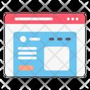 Website Webpage Web Icon
