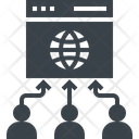 Website Traffic Source Icon