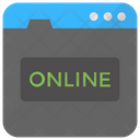 Online Internet Www Icon