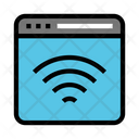 Signal Webpage Online Icon