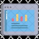 Website Online Analytics Online Analysis Icon