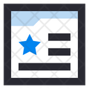 Customer Review Feedback Website Icon