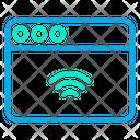 Samrt Web Smart Website Web Icon