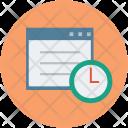 Website Development Timeline Icon