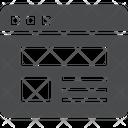 Webpage Web Webpage Layout Icon