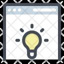 Website Innovation Idea Icon