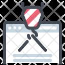 Website Development Design Icon