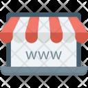 Website Domain Worldwide Icon
