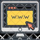 Mwebsite Website Access Website Icon